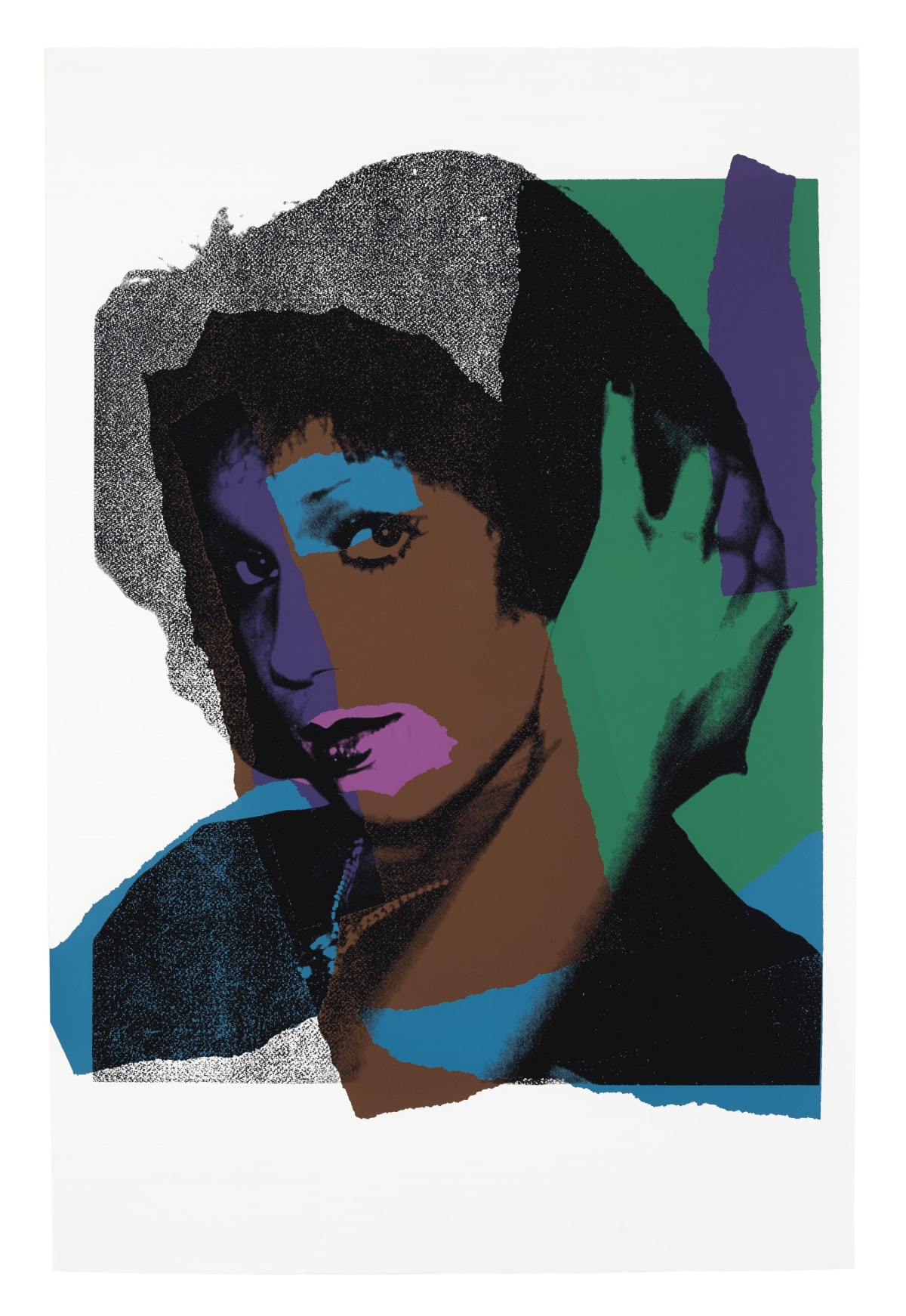 Ladies and Gentlemen, II.132, 1975, by Andy Warhol, Portfolio of Ten Screenprints from an edition of 125, at Coskun Fine Art