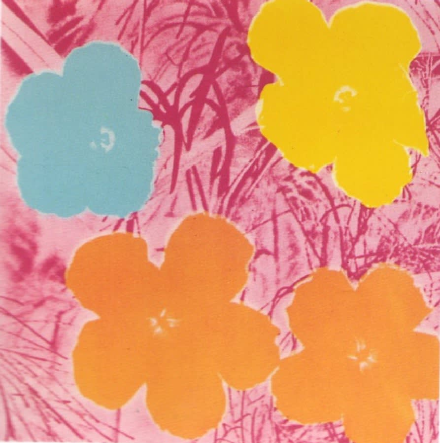 Flower II.70, 1970, by Andy Warhol, from the Portfolio of ten screen prints from an edition of 250, at Coskun Fine Art