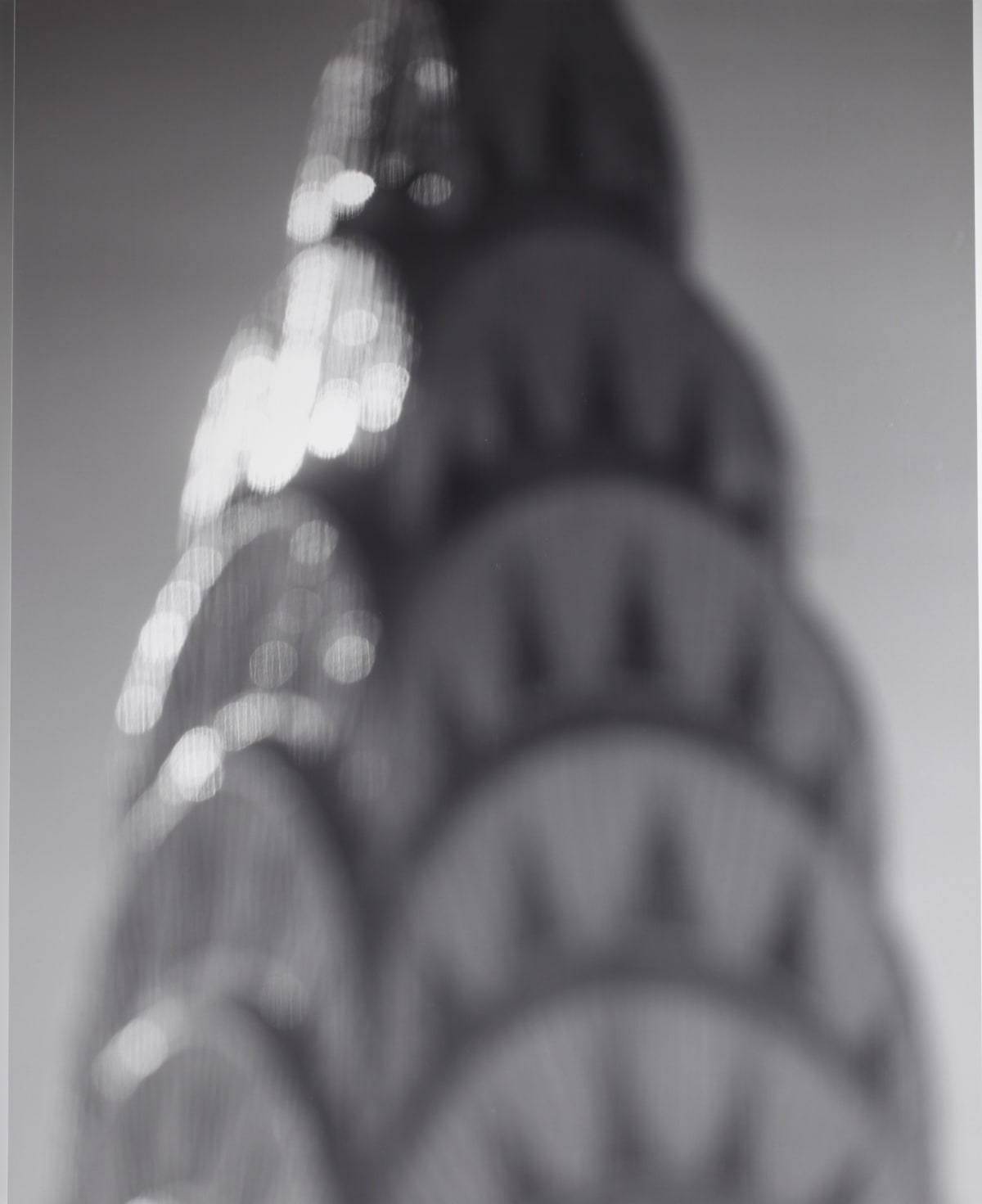 Chrysler Building, 1997 by Hiroshi Sugimoto, Gelatin-Silver Print from an edition of 5, at Coskun Fine Art