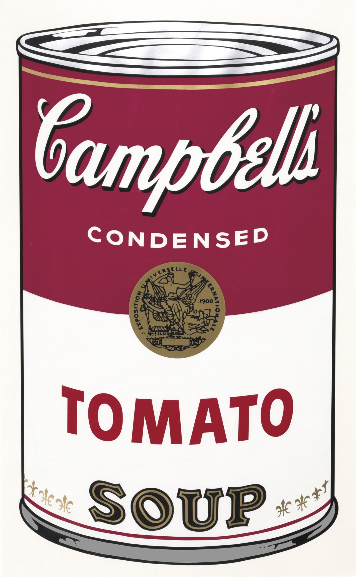 Campbell's I, Tomato Soup, 1968 by Andy Warhol, Screenprint from an edition of 250 at Coskun Fine Art