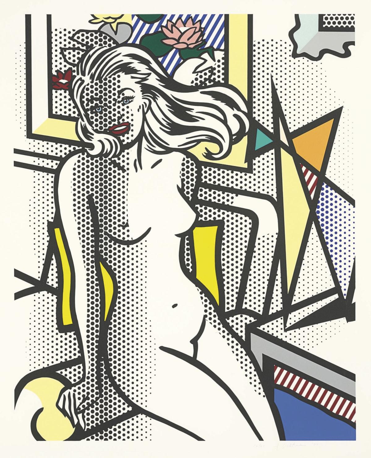 Roy Lichtenstein, Nude with Yellow Pillow, 1994