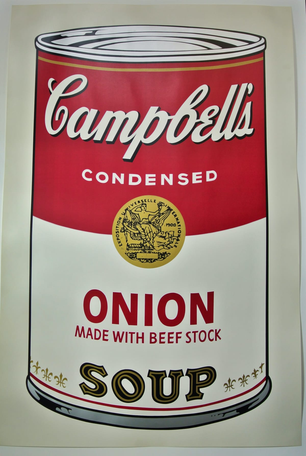 Campbell's I, Onion Soup, 1968 by Andy Warhol, Screenprint from an edition of 250 at Coskun Fine Art