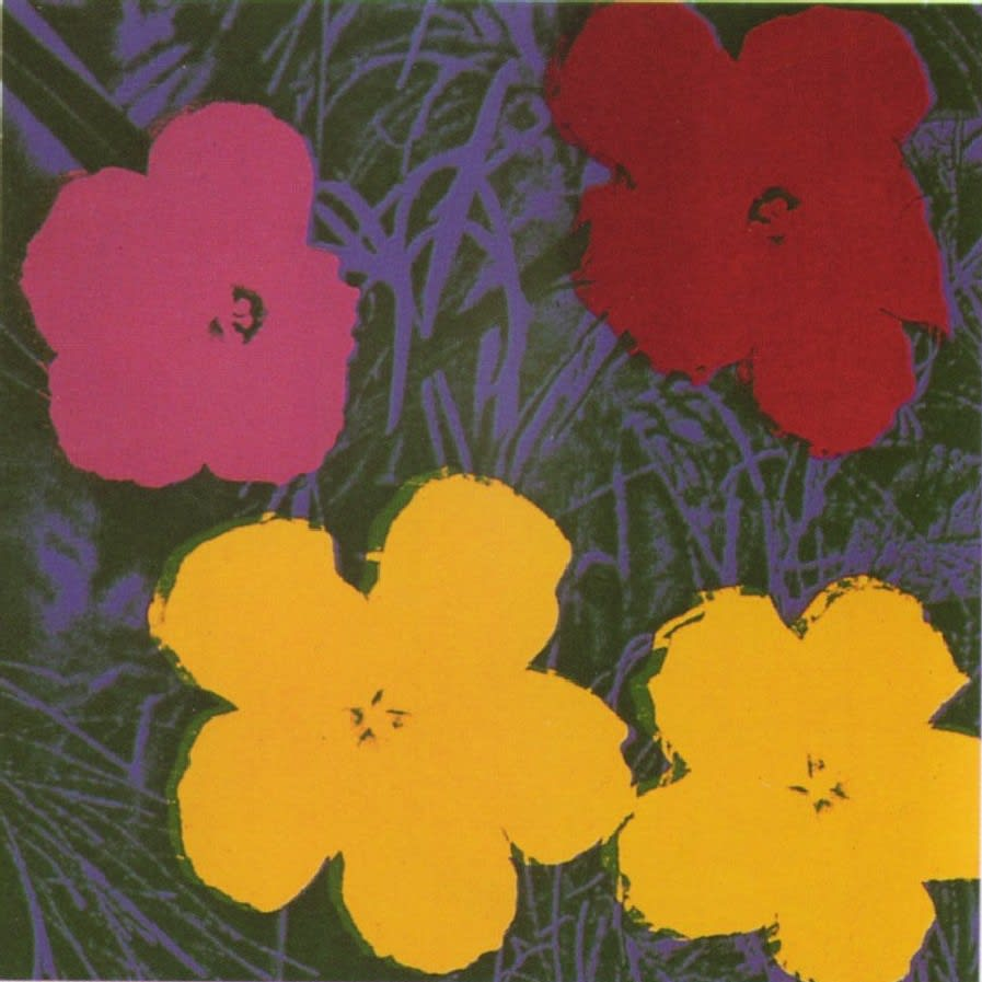 Flowers, II.65, 1970, by Andy Warhol, from the Portfolio of Ten Screenprints from an edition of 250, at Coskun Fine Art
