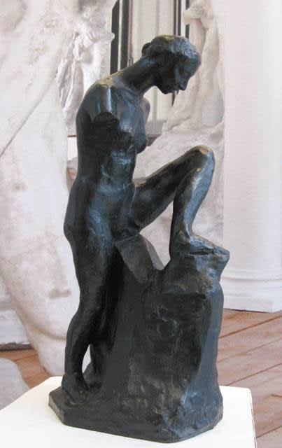 Muse Whistler, Étude pour le monument (type C) by Auguste Rodin, Original Sculpture at Coskun Fine Art