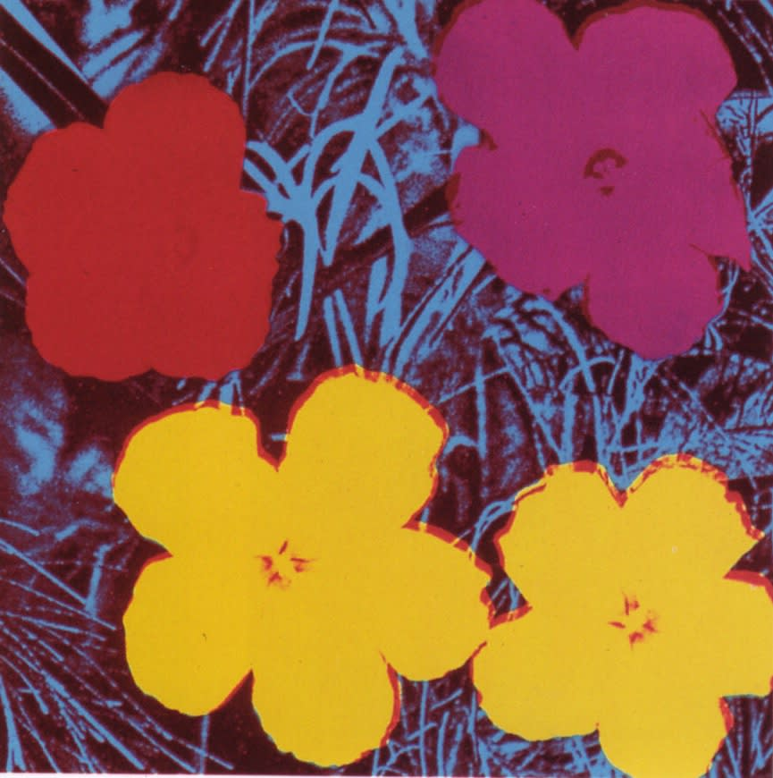 Flowers, II.71, 1970, by Andy Warhol, from the Portfolio of Ten Screenprints from an edition of 250, at Coskun Fine Art