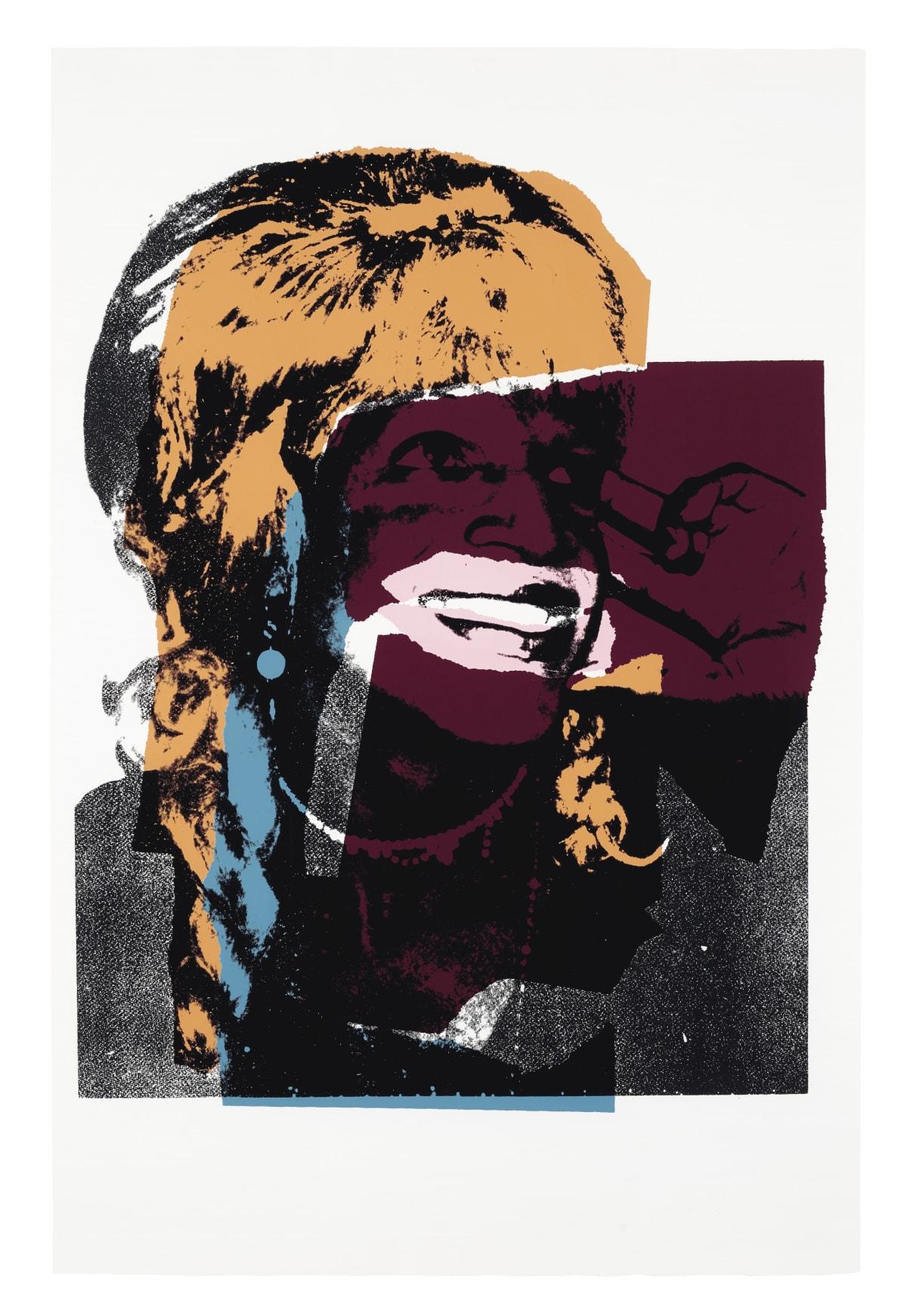 Ladies and Gentlemen II.133, 1975, by Andy Warhol, Portfolio of Ten Screenprints, edition 125 at Coskun Fine Art