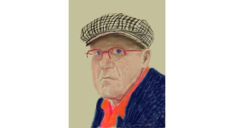 David Hockney: Drawing from Life | National Portrait Gallery, London, 27 February - 28 June 2020