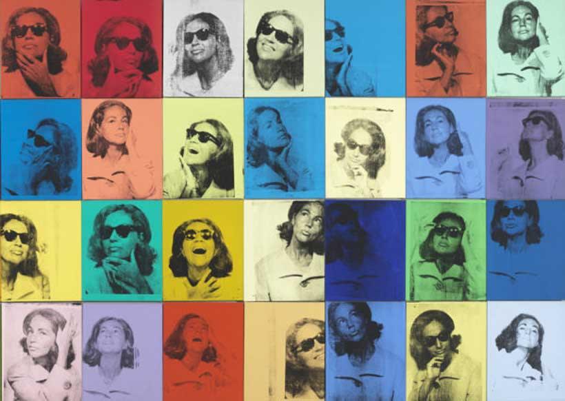 Andy Warhol, Ethel Skull 36 Times, 1963