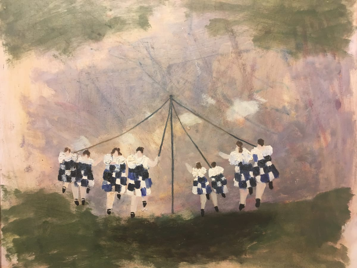 Mary NEWCOMB (1922 – 2008) The Maypole Dancers, 1970