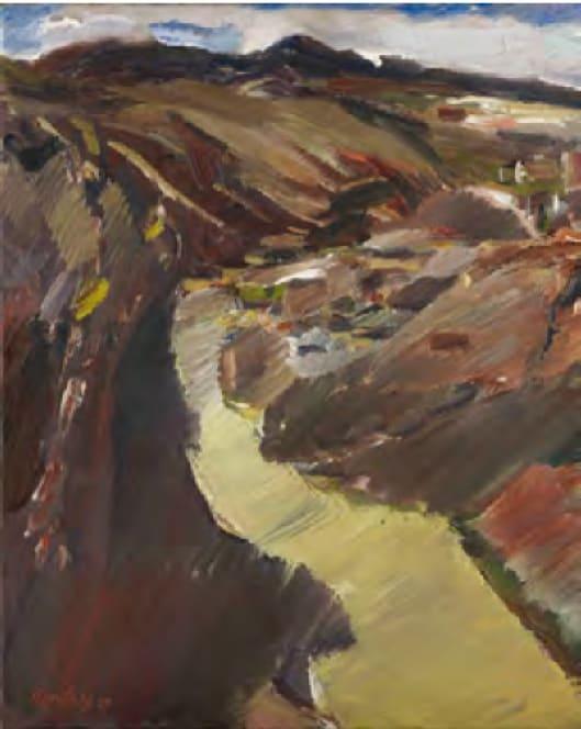 David BOMBERG (1890 – 1957) The River Tajo, Toledo,1929