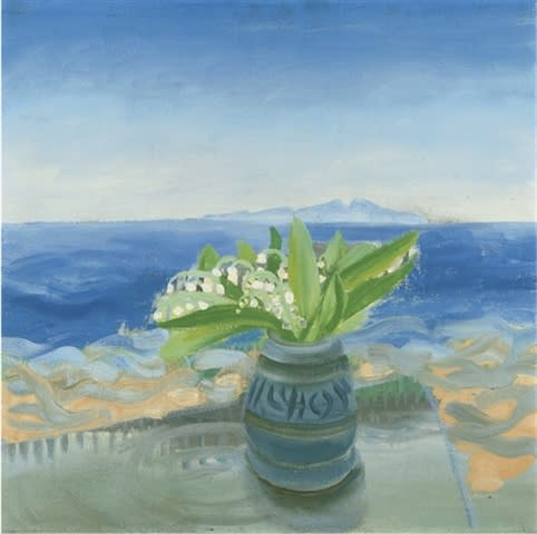 Winifred NICHOLSON (1893 – 1981) Lily of the Valley, St. Bees, 1940s