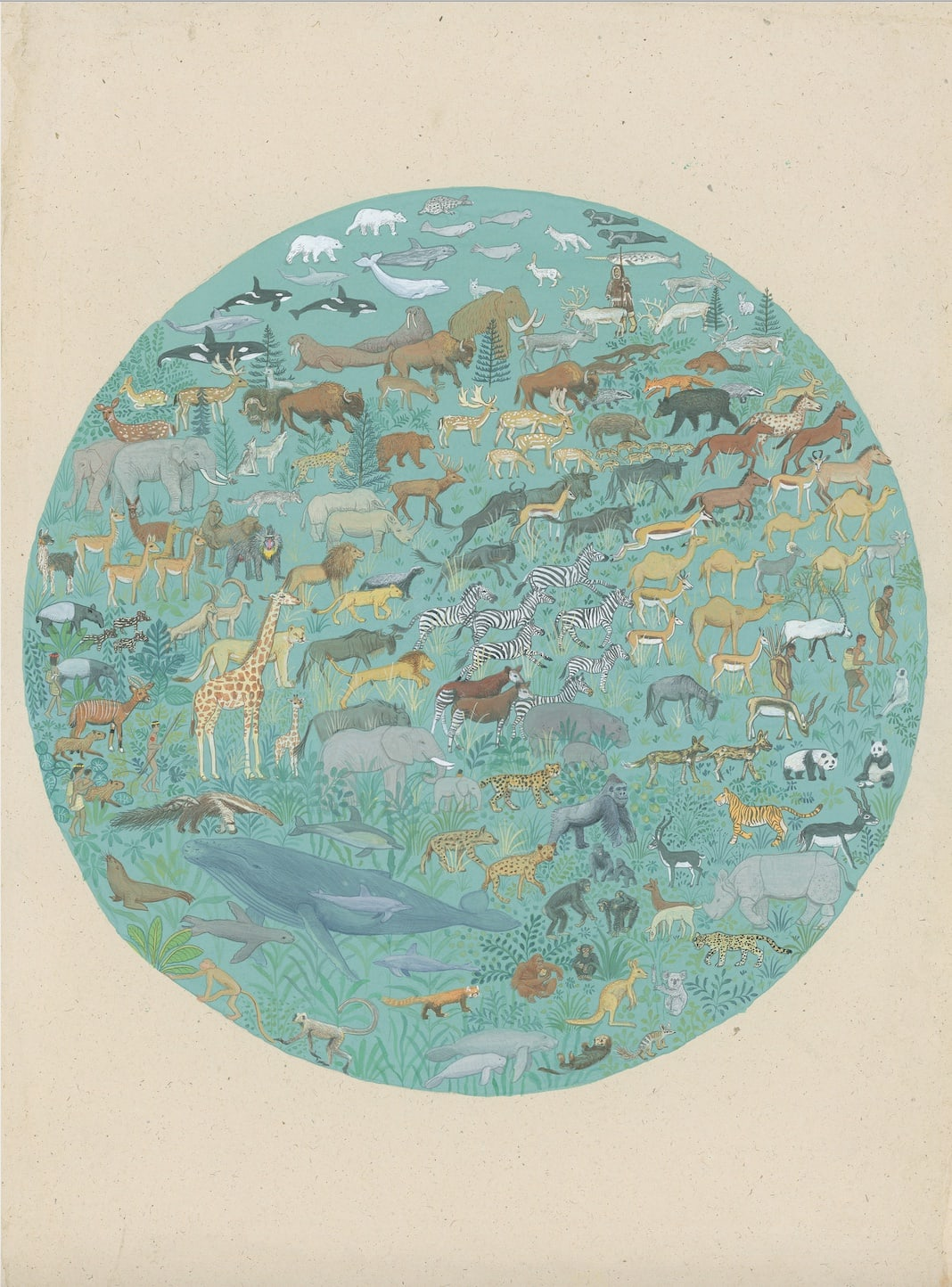 Jethro BUCK (b.1986) Mammals Past (20,000BC), 2019