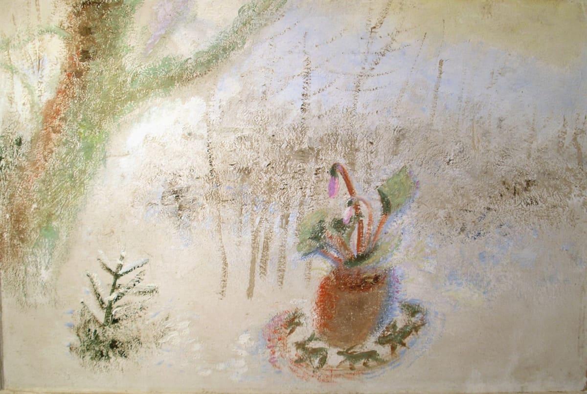 Winifred NICHOLSON (1893-1981) Snowy Dance, 1972 Oil on canvas 20 x 30 inches / 74 x 48 cm