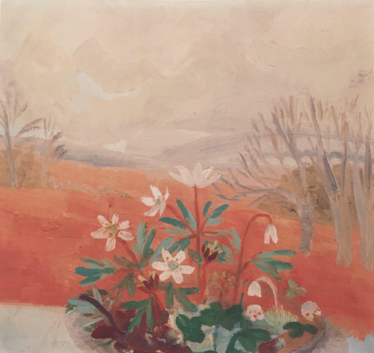 Winifred NICHOLSON (1893 – 1981) Windflowers, 1934 Oil on board 13 x 14 ¼ inches / 33 x 36 cm