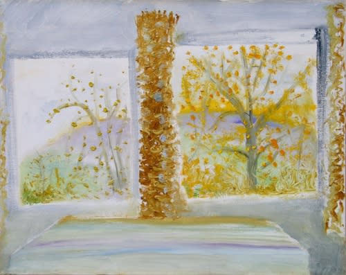 Winifred NICHOLSON (1893 -1981) Autumn Windows, c.1970 Oil on canvas 23 ¼ x 29 inches / 59.8 x 73.7 cm