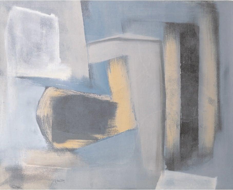 Composition, 1949 Oil on canvas 38 x 30 ins (96.5 x 76 cm)