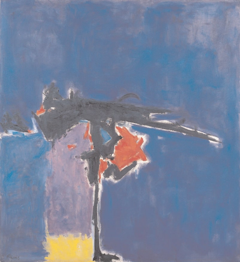 Divide, 1960 Oil on canvas 52 x 56 ins (132 x 142 cm)