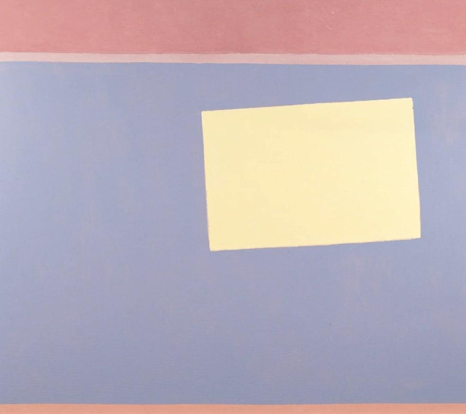 Chosica Sun Box II, 1968 Oil on canvas 60 x 68 ins (152.5 x 173 cm)