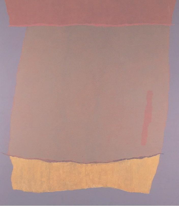 Infinity Field, Lefkada Series IX, 1978 Acrylic on canvas 76. x 67. ins (194.5 x 172 cm)