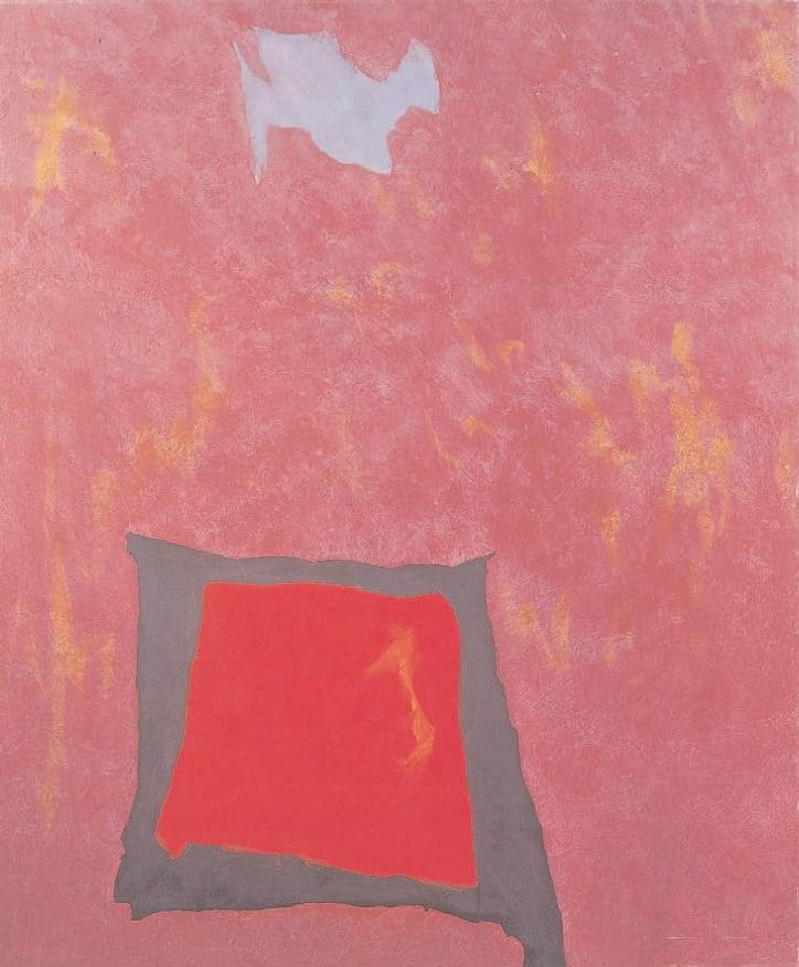 Infinity Field, Jerusalem Series No. 2, 1992 Acrylic on canvas 60 x 50 ins (152.5 x 127 cm)
