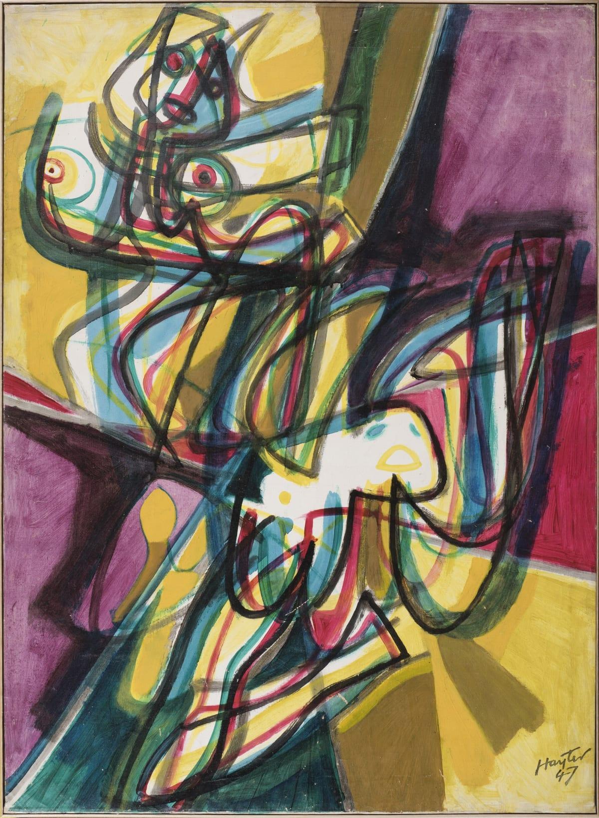 Stanley William Hayter, Bacchantes, 1947