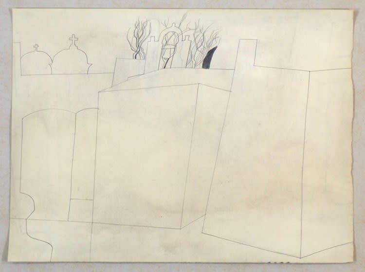 Ben Nicholson, 1961, October (Paros - Londini), 1961