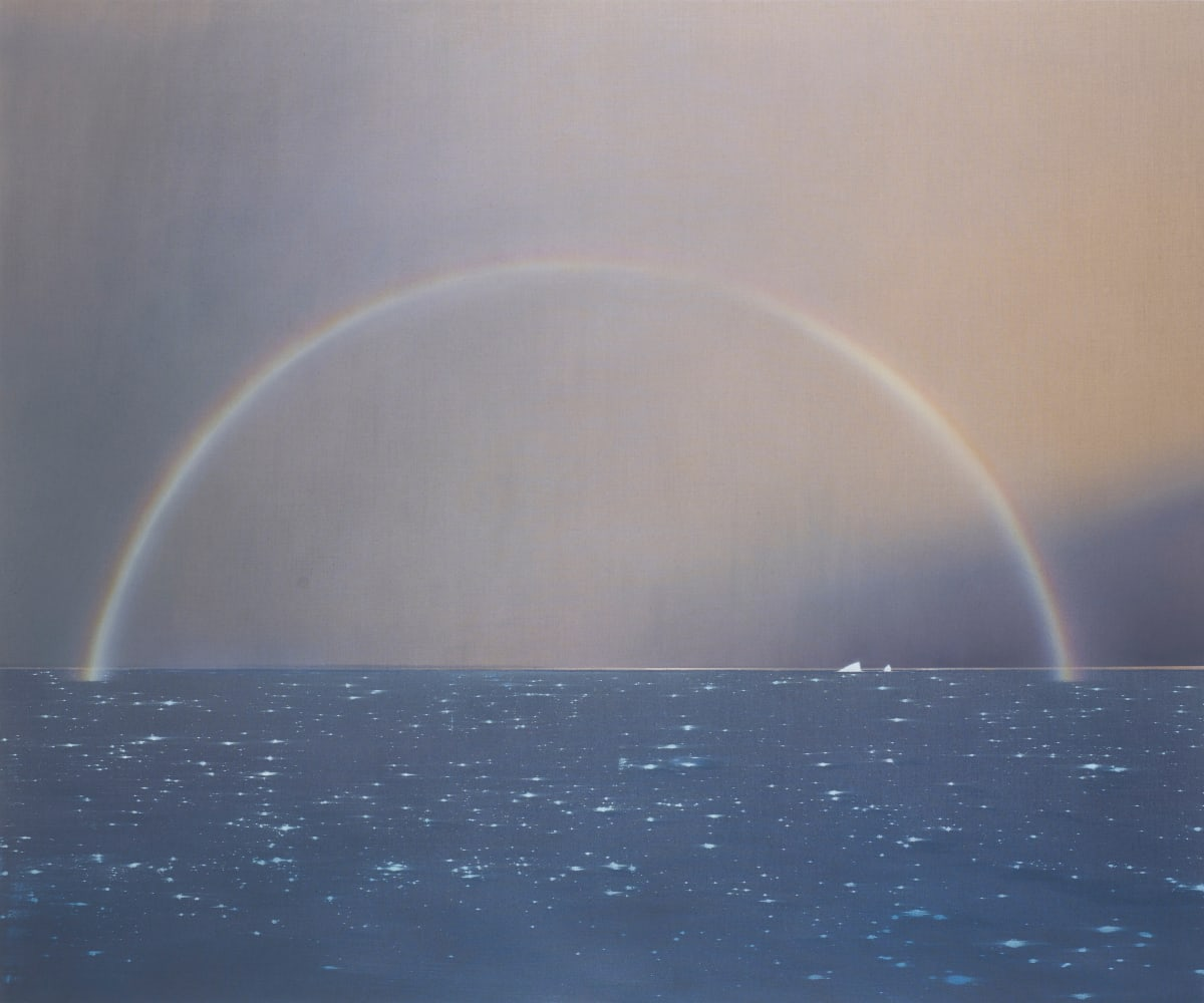 Nicholas Jones, Rainbow and Bergs, 2018