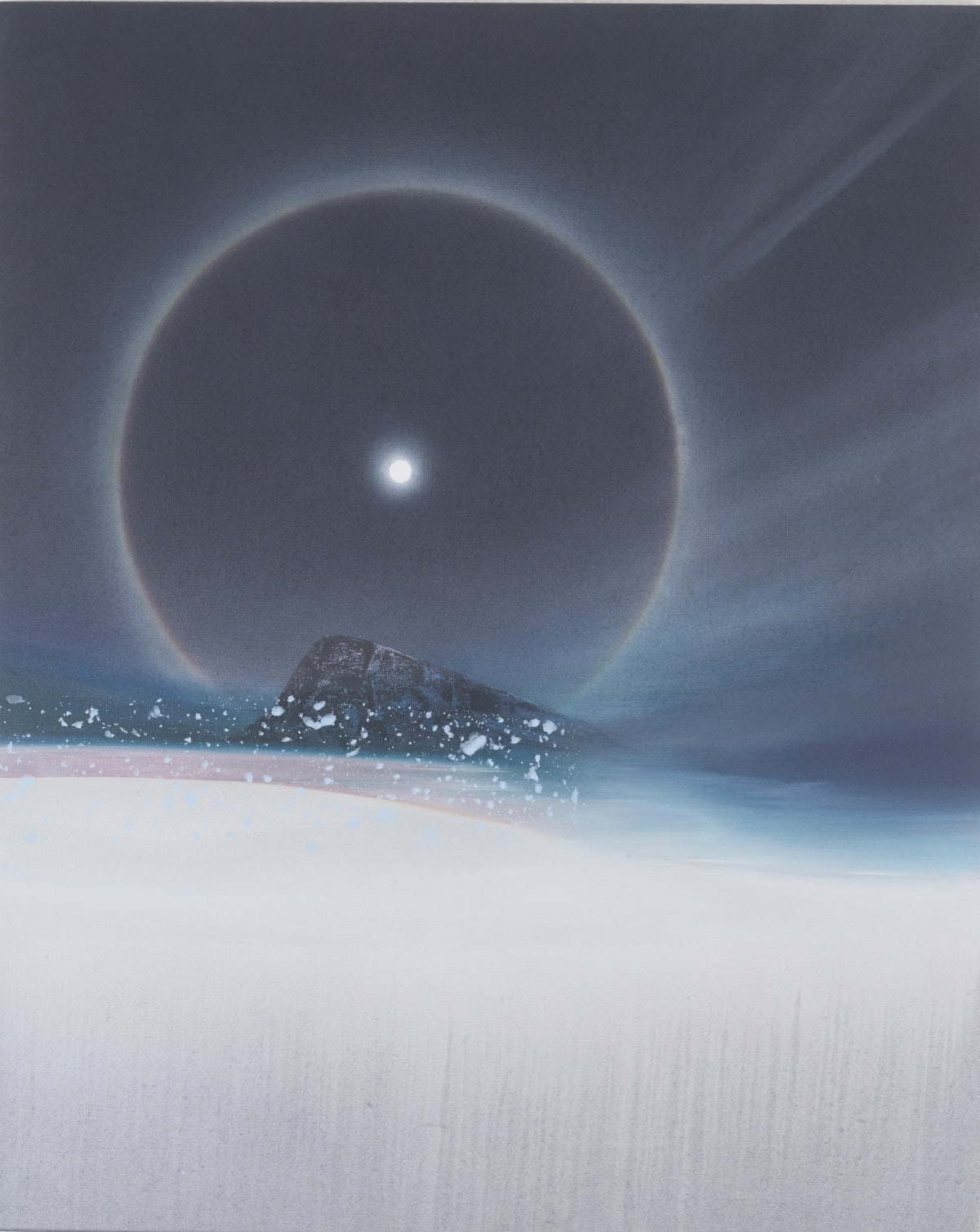 Nicholas Jones, A Cold Beauty: Lunar Halo, 2018