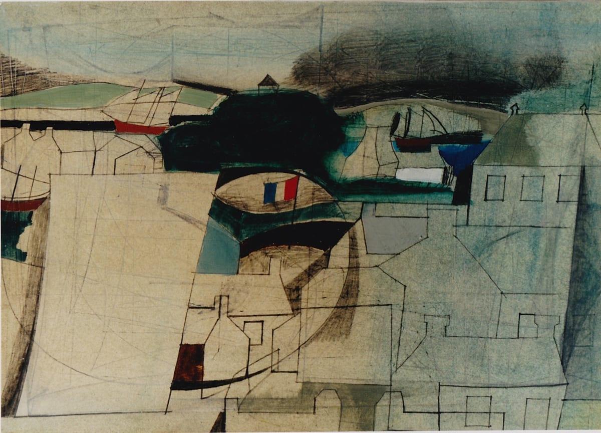 Ben Nicholson, Treboul, Brittany, 1954