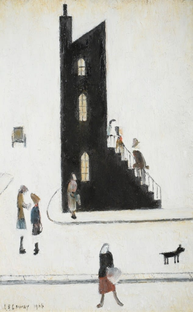 Laurence Stephen Lowry, The End House, 1966