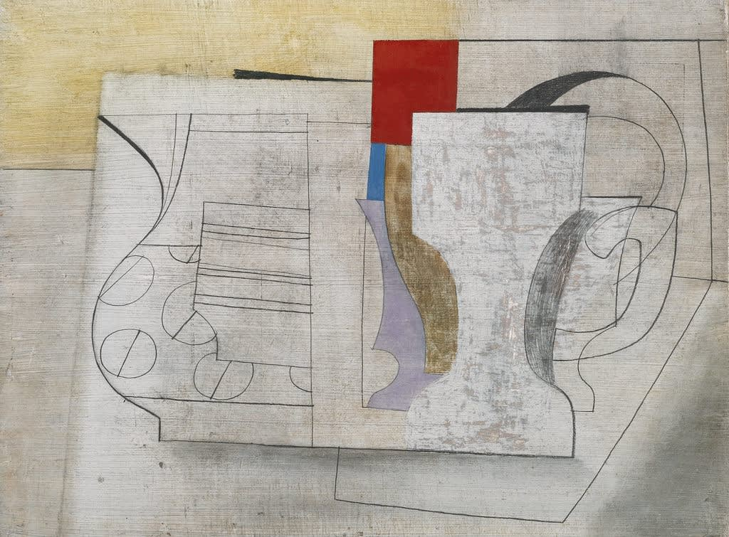 Ben Nicholson, Still Life / June 16-47, 1947