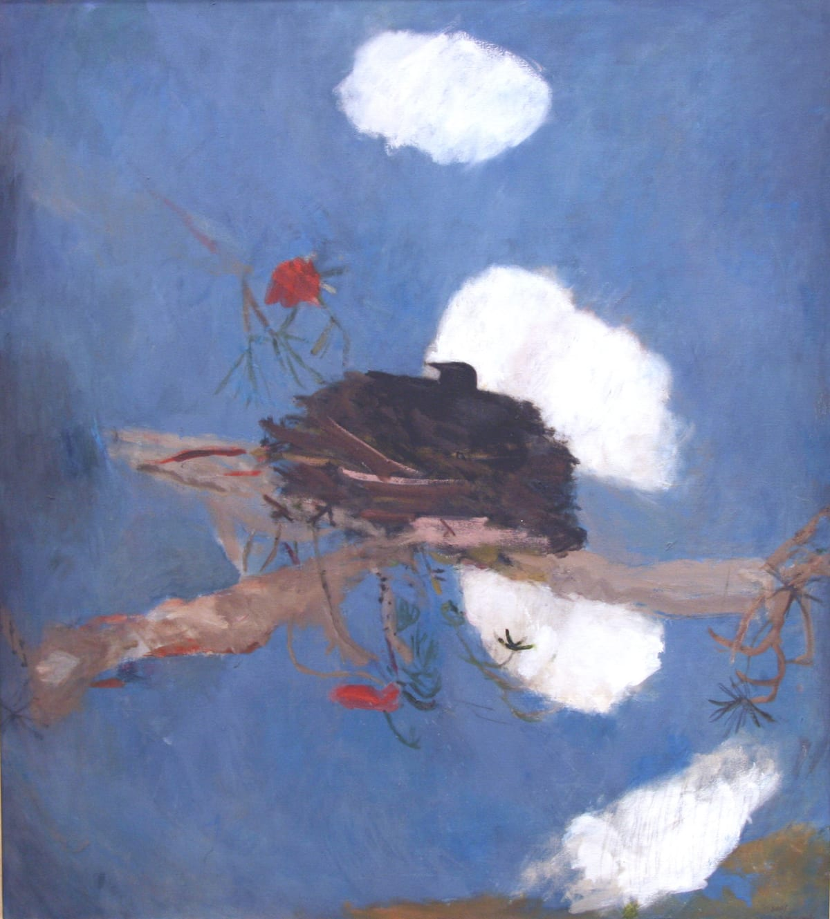 Mary Newcomb, Brooding Rooks Heaven, 2001