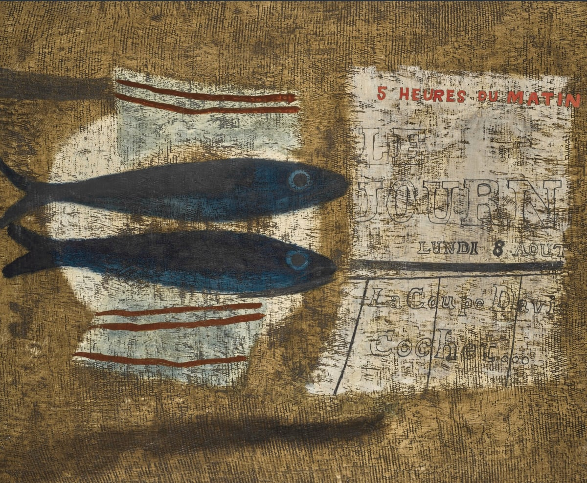 Ben Nicholson, Two Fishes, 1932