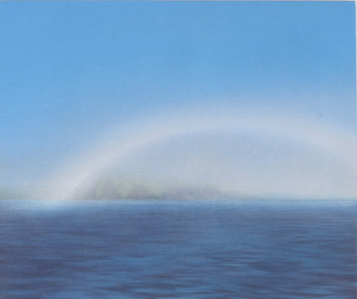 Nicholas Jones, Fog Bow and Arctic Coast, 2018