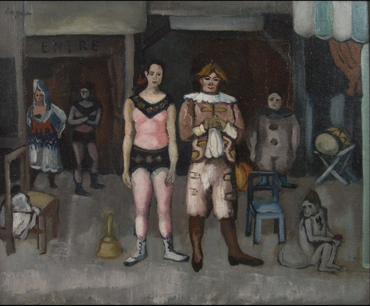 Celso Lagar, Saltimbanques, c.1925