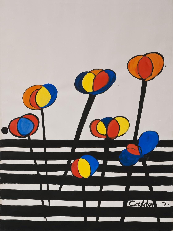 Alexander Calder, La Barriere, 1971
