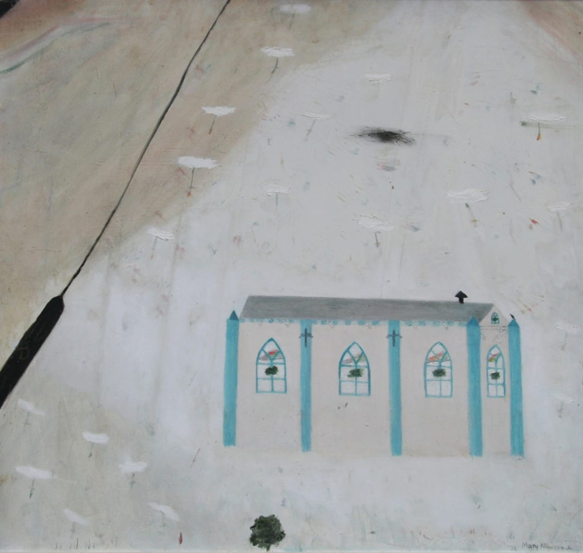 Mary Newcomb, Country Chapel, 1973