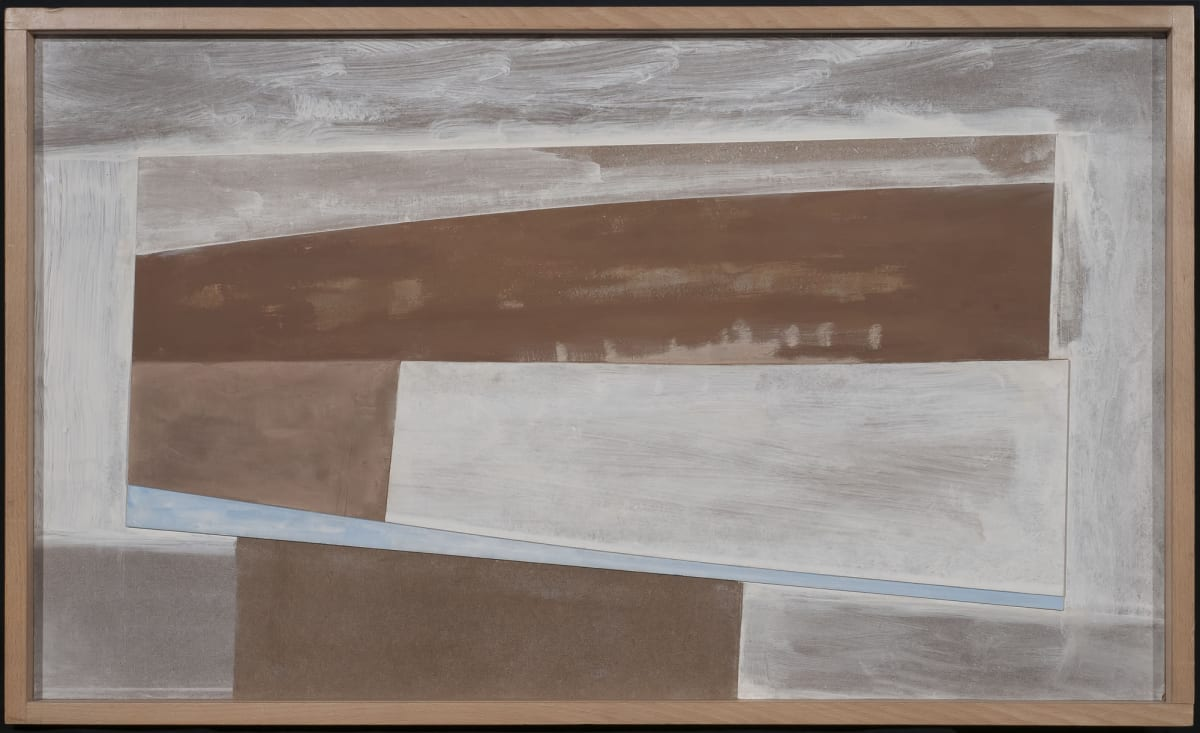 Ben Nicholson, Untitled Relief (Brissago and Hampstead), 1979