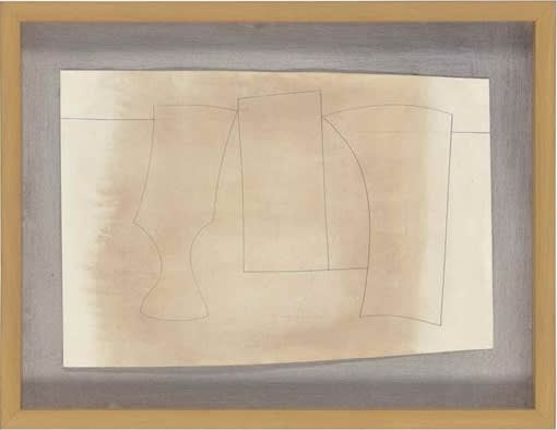 Ben Nicholson, June 1960, Three Forms, 1960