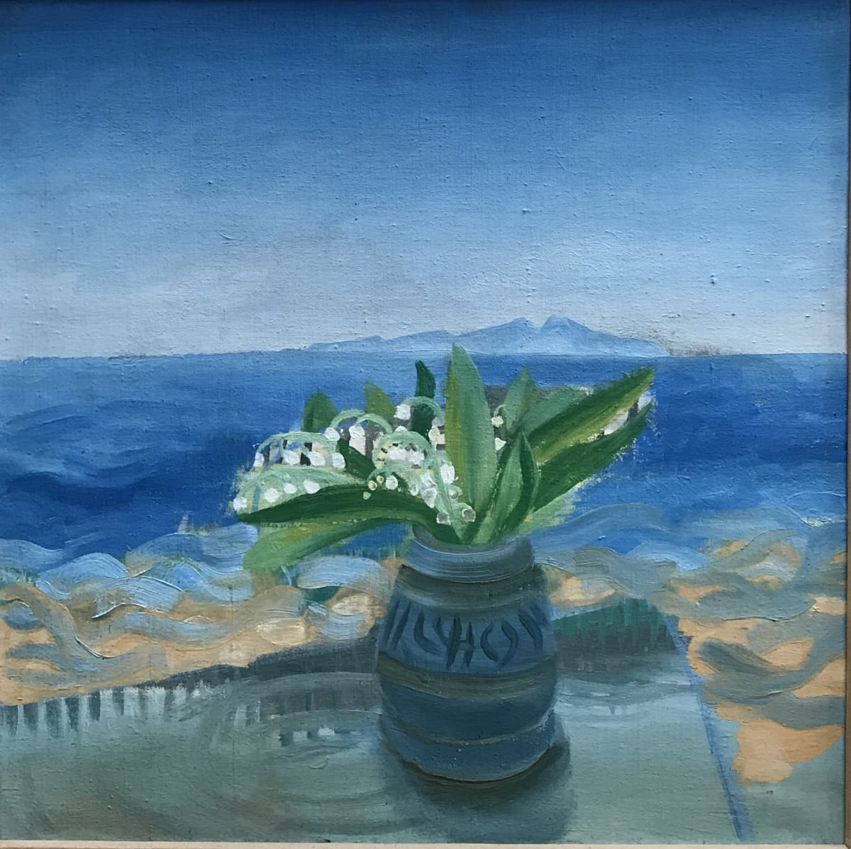 Winifred Nicholson, Lily of the Valley, St Bee's, 1940's