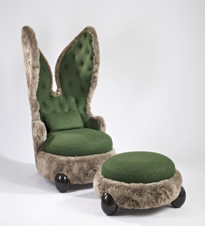 Hubert Le Gall, Placide, The Rabbit Chair, 2012
