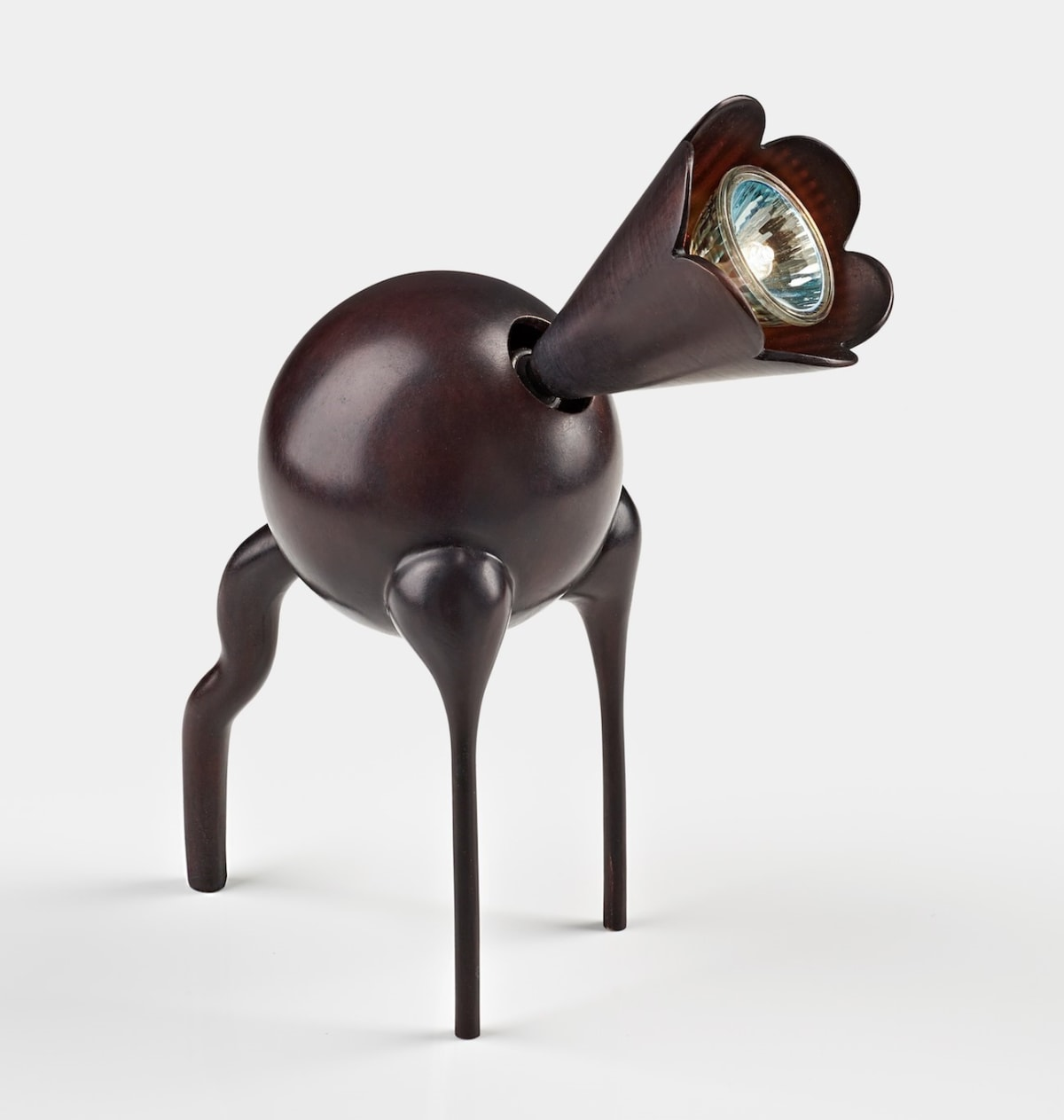 Hubert Le Gall, Odette Lamp (Noire / Chocolat), 2017