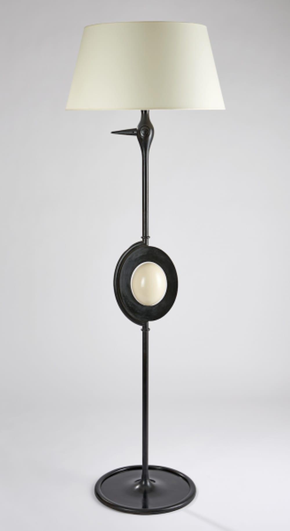 Hubert Le Gall, Ostrich Lamp, 2016
