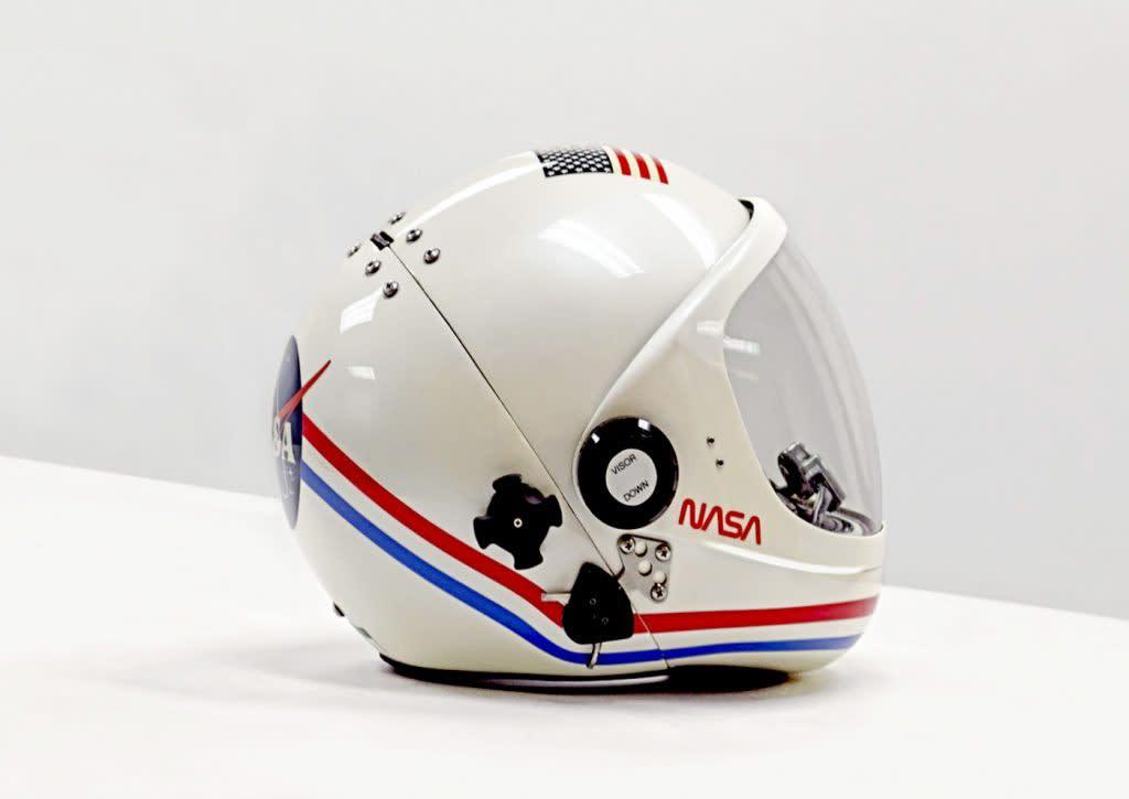 Vincent Fournier, Space Helmet Backshell, Launch-Entry, Shuttle, Johnson Space Center, Houston, [NASA], U.S.A, 2017