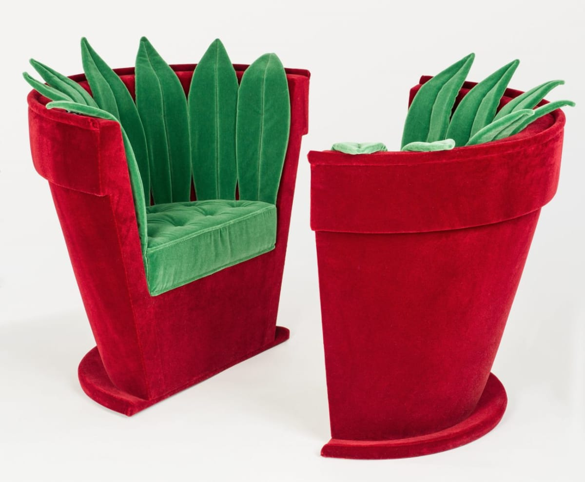 Hubert Le Gall, Pots of Flowers Chair, 1998