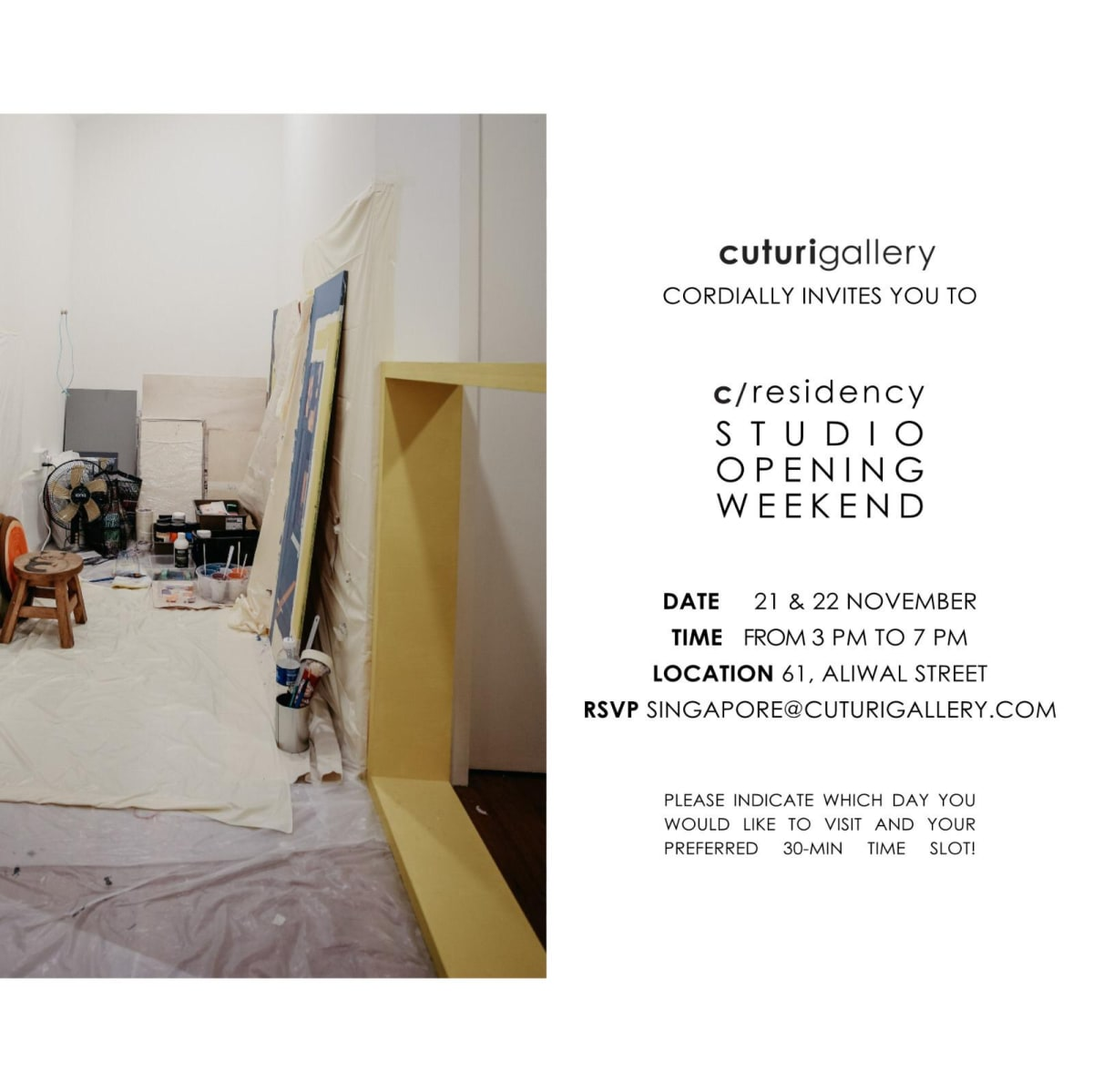 c/residency: Studio Opening Weekend