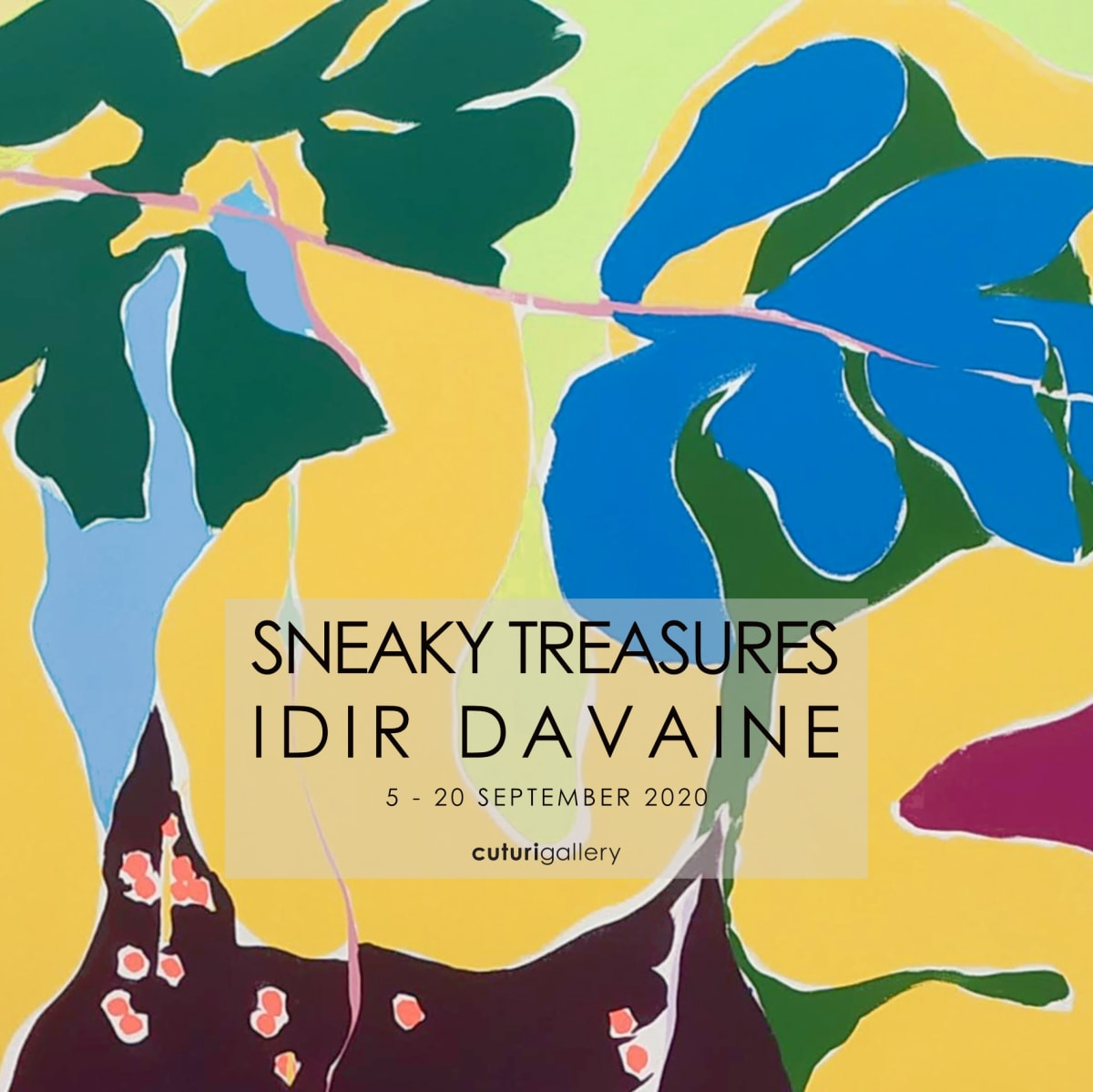 Opening Weekend: Sneaky Treasures by Idir Davaine