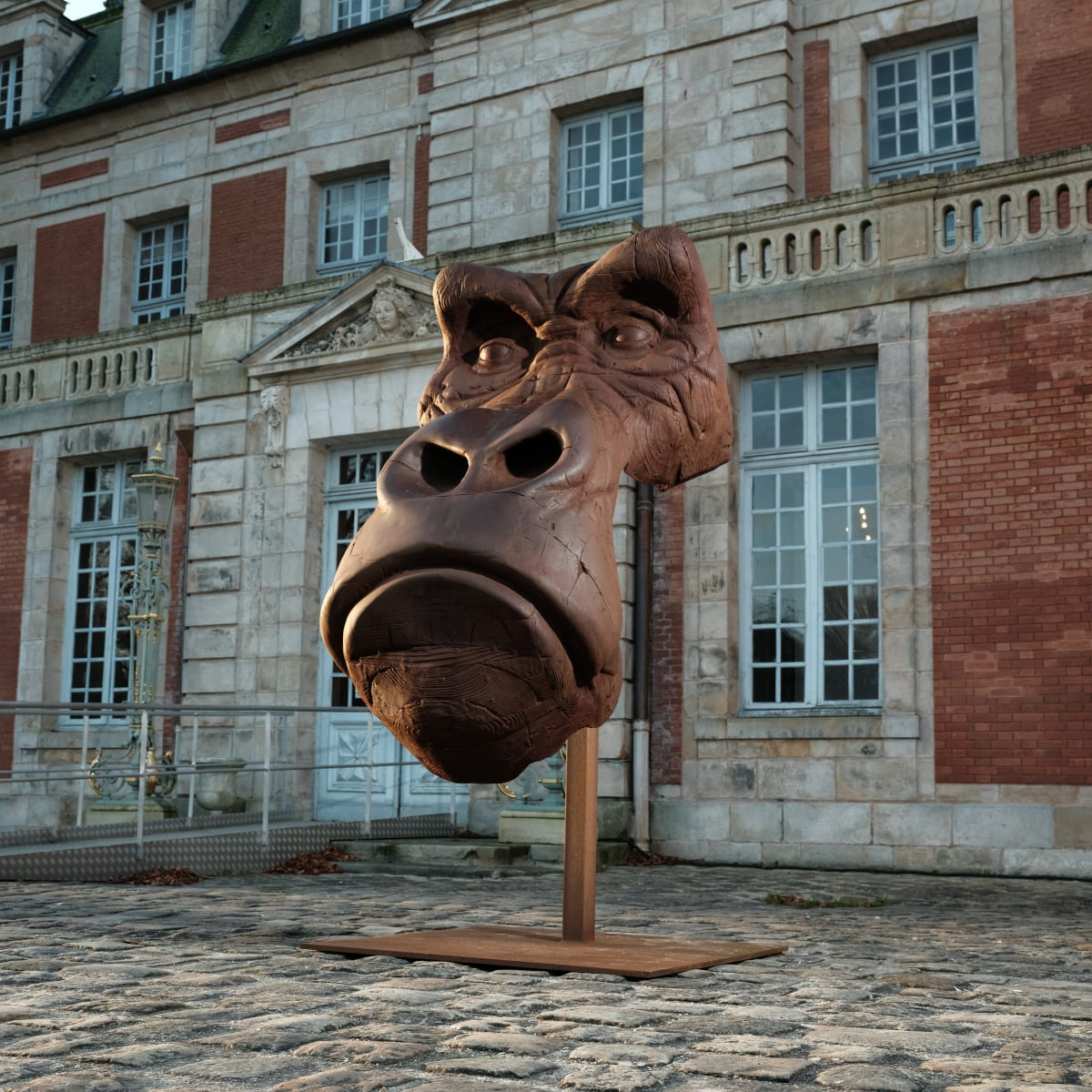 Quentin Garel at the Domaine de Chamarande: Anomal