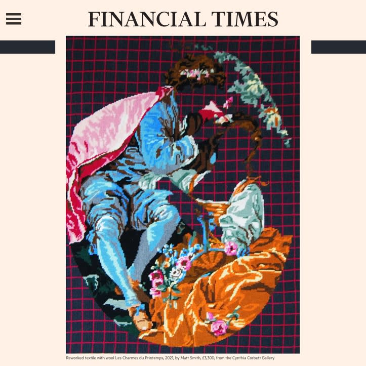 Financial Times | Highlights from Collect Craft Fair's online debut with Artsy