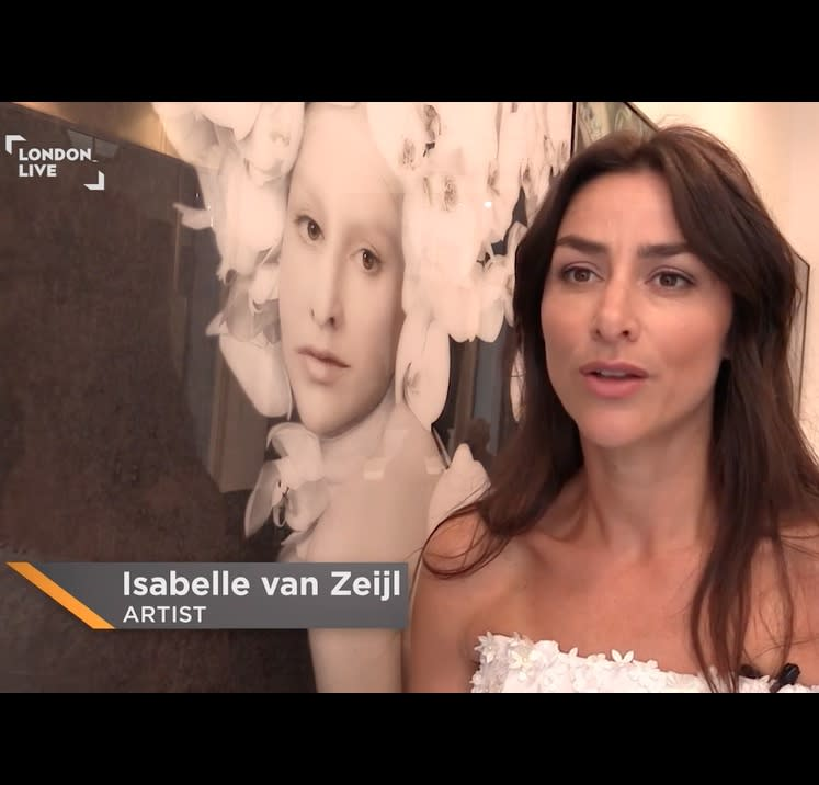 Isabelle van Zeijl interview in London Live